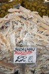 Shredded cod at grocery